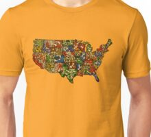 United States of Abstraction Unisex T-Shirt