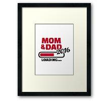 Mom Dad 2016 Framed Print