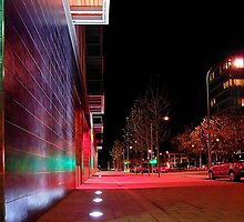 Urban 'scape At Night - Buckinghamshire by Nick Bland