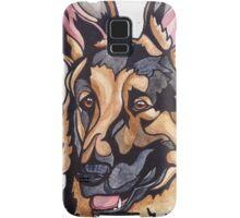 Dog Art #10: Harry the German Shepherd Dog Samsung Galaxy Case/Skin