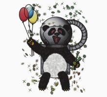 Pascal the Pot Smoking Space Panda by Ozone Clothing