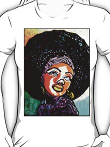 BLACK IS BEAUTIFUL: A IS FOR AFRO T-Shirt