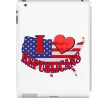 I Love Republicans iPad Case/Skin