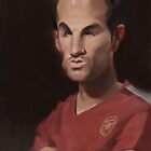Cesc Fabregas - The Maestro by Nori Tominaga