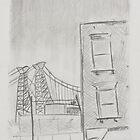 Williamsburg Bridge by Benjamin Vess