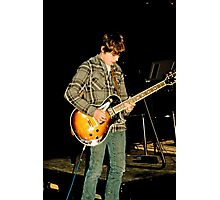 Live and on stage! Photographic Print