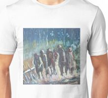 The Hoops Charge Home - Country Racing Vic. Australia Unisex T-Shirt