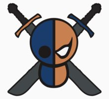 Deathstroke logo Kids Clothes