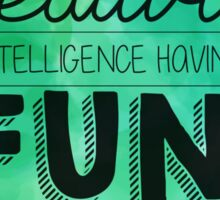 Creativity Is.... Sticker
