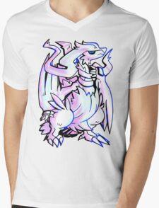 Pokemon - The Legendary Reshiram Mens V-Neck T-Shirt