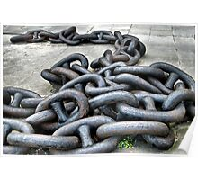 Anchor Chain Poster