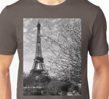 BW France Paris Eiffel tour 1970s Unisex T-Shirt