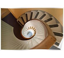 Lighthouse Spiral Stairs Poster