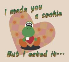 Yoshi Eated the Cookie by GeekyAngel