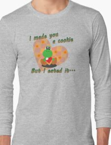 Yoshi Eated the Cookie Long Sleeve T-Shirt