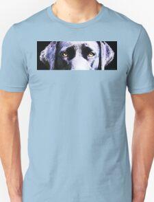 Black Labrador Retriever Dog Art - Lab Eyes Unisex T-Shirt