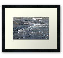 rush of nature Framed Print