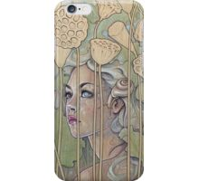 'Nelumbo' (Lotus Nymph) iPhone Case/Skin