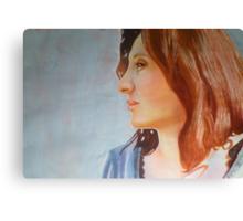 Profile Portrait of  Sophie Canvas Print