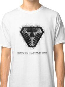 That's the Tri.Optimum way! Classic T-Shirt
