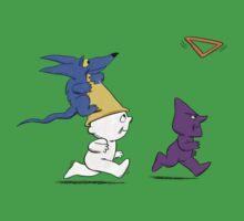 Triangle Toss One Piece - Short Sleeve