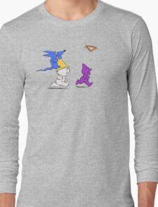 Triangle Toss Long Sleeve T-Shirt