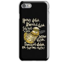 SPECIAL WEAPONS, SOLID SHELL OF HATE iPhone Case/Skin