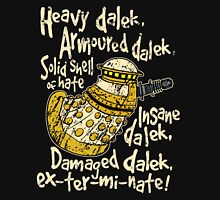 SPECIAL WEAPONS, SOLID SHELL OF HATE Unisex T-Shirt