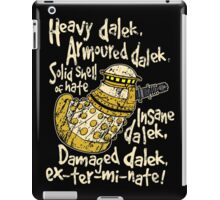 SPECIAL WEAPONS, SOLID SHELL OF HATE iPad Case/Skin