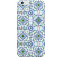 Blue, Pink and Green Abstract Medallion Design  iPhone Case/Skin