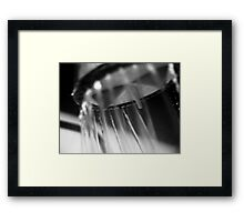 Ray and Spark Framed Print