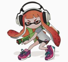 Splatoon Squid kid Nintendo Print Kids Tee