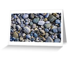 Stoned Pebbles Greeting Card