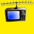 Fan of TV - Retro TV - Television - Some of you may not have seen one of these!! by bleedart