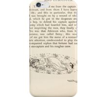 Mrs Leicester's School Charles & Mary Lamb with Minifred Green 18xx 0180 Tailpiece to The Sea Voyage iPhone Case/Skin