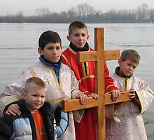 The Cross of Honour for  Epiphany  by branko stanic