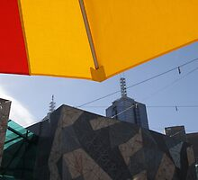 Federation Square Umbrellas by ofurniss