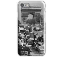 vintage France Paris Triumphal arch 1970s iPhone Case/Skin
