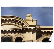 Facade at Flinders Street Station Poster