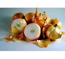 Onions Have Layers Photographic Print