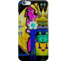 Lady Panda with hamsa and lovable  luck. iPhone Case/Skin