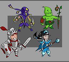 Magic vs. Zombies: The Heroes by nE0n1nja