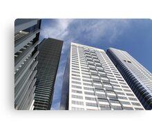 Melbourne Skyline - 4 Towers 2 Canvas Print