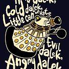 Hard Dalek (Soft Kitty Parody) by B4DW0LF