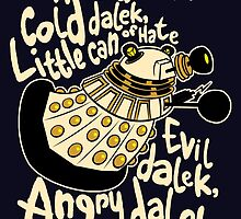 Hard Dalek (Soft Kitty Parody) by B4DW0LF