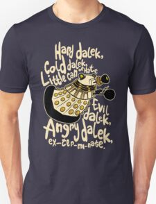 Hard Dalek (Soft Kitty Parody) T-Shirt