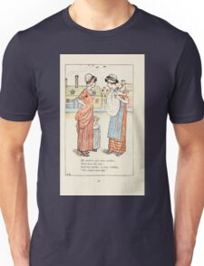 Mother Goose or the Old Nursery Rhymes by Kate Greenaway 1881 0050 My Mother and Your Mother Unisex T-Shirt