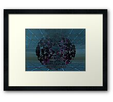 Abstract - Serious Doodle1 for Roza50 Framed Print