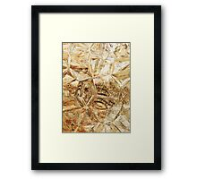 Axion abstraction 11 Framed Print