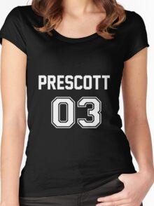 Nathan Prescott Jersey Women's Fitted Scoop T-Shirt